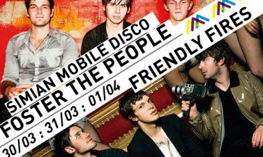 Sideshows Lollapalooza: Friendly Fires, Simian Mobile Disco & Foster The People @ 31 Marzo/1 de Abril | Centro Cultural Amanda