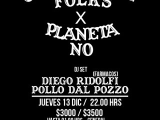 [Ganadores] CELLOPHANE FOLKS + PLANETA NO @CLUB IBIZA JUEV 13 DIC