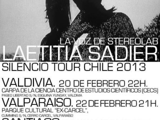 Confirman Tour por Chile de Laetitia Sadier