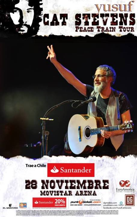 Cat Stevens Peace Train Tour Chile