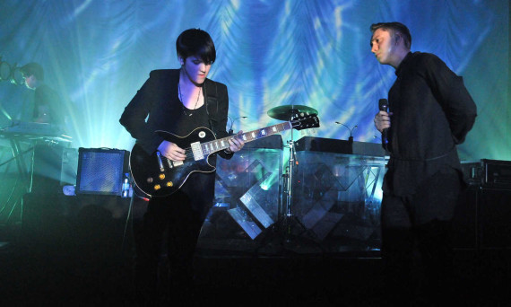 The XX Perform At Shepherds Bush Empire In London