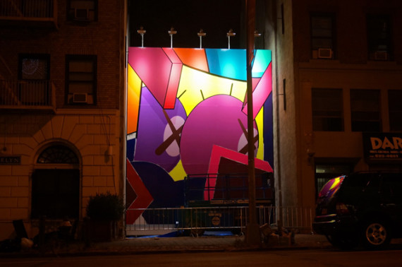KAWS-Mural-Brooklyn