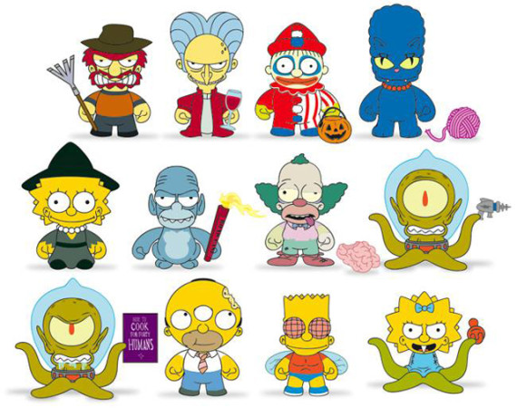 Kidrobot X Los Simpsons Versi 243 N Halloween Loud Cl