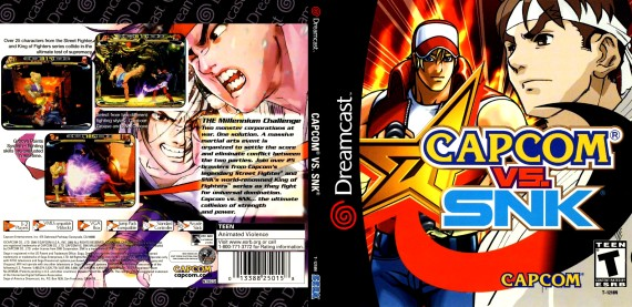 Capcom vs. SNK (Capcom) [NTSC-U]