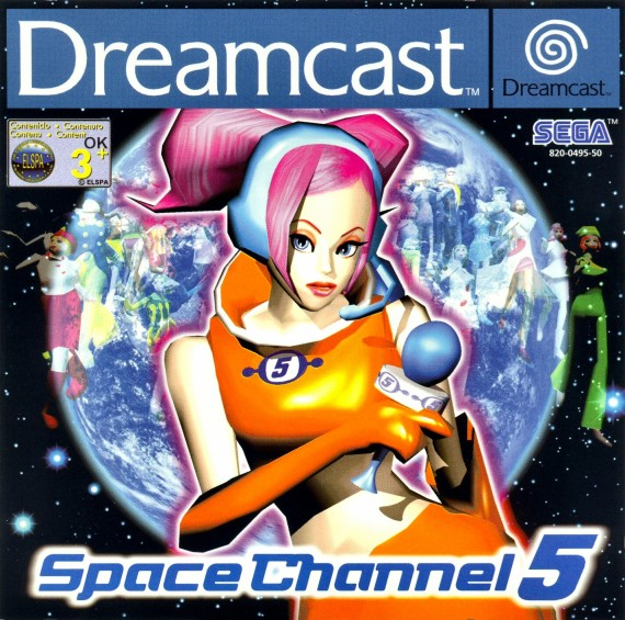 Space Channel 5 PAL DC-front