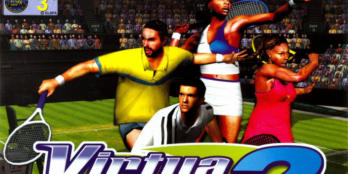 Virtua Tennis 2 PAL DC-front