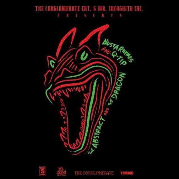 Busta-Rhymes-Q-Tip-Abstract-Dragon