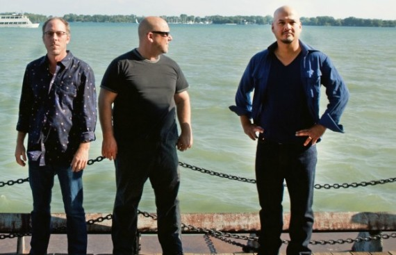 LEFT TO RIGHT:  David Lovering, Black Francis, Joey Santiago