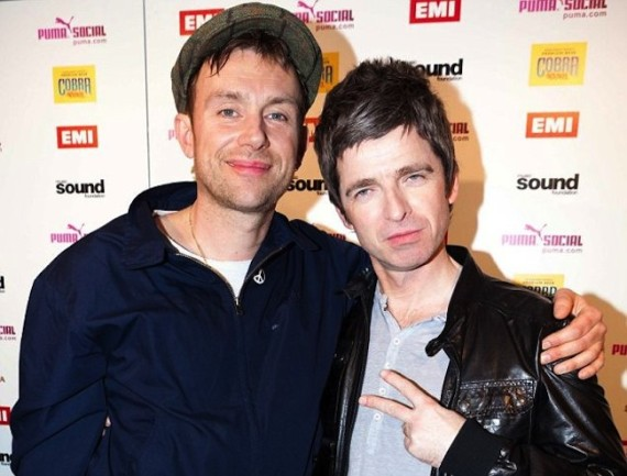 Damon_Albarn_y_Noel_Gallagher