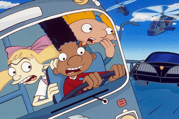 Hey Arnold! The Movie (2002) Directed by Tuck Tucker Shown from left: Helga, Gerald, Arnold