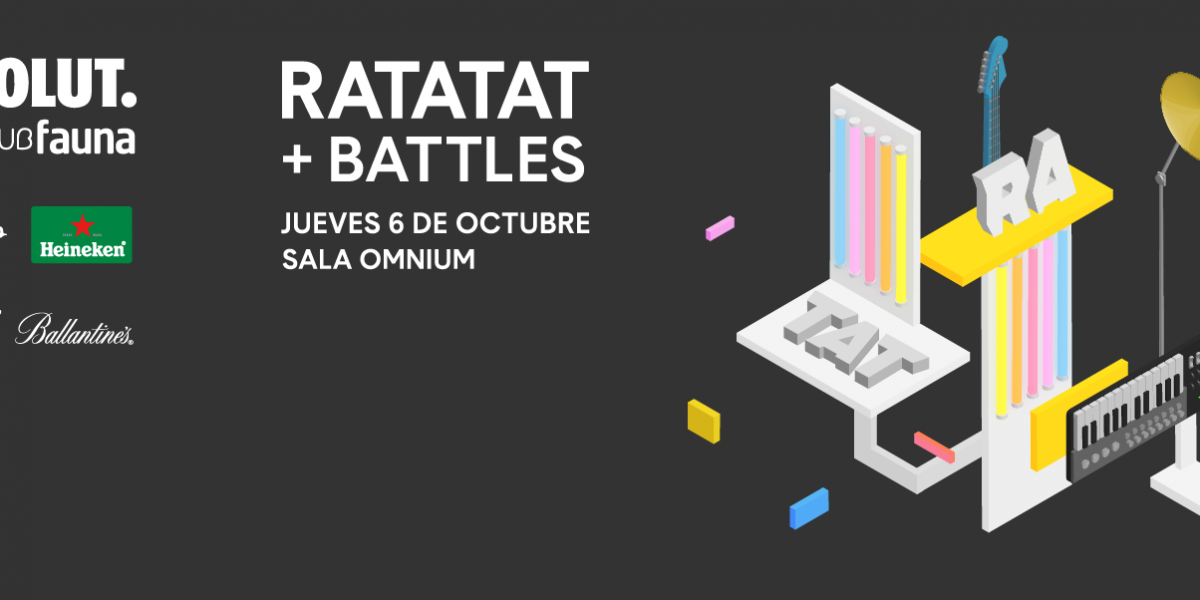 Absolut Vodka presenta: Ratatat y Battles en Chile