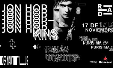 RAD presenta: Jon Hopkins en Chile