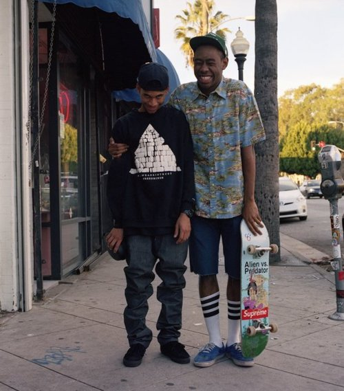 tyler the creator and Hodgy Beats – LOUD.cl